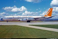 South African Airways Boeing 707-344B Perth Australia 1974