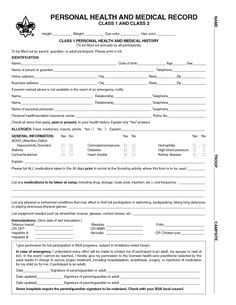 Detailed Emergency Contact Form Printable Medical Form Free To
