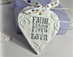 Bible verse religious gift Baptism gift from by FrivolousCrafts