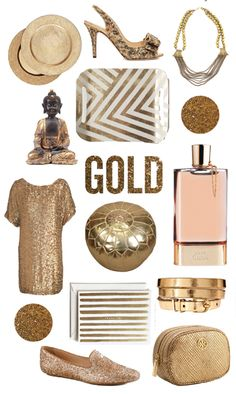current love: gold