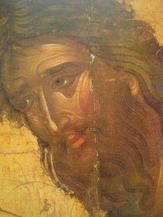 St John the Baptist, Byzantine Icons, Byzantine Art, St Jean Baptiste, Wings Icon, Russian Icons, Religious Paintings, Best Icons, John The Baptist, Art Icon