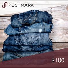 30% Off 3 Or More Pair of Jeans 30% Off 3 Or More Pair of Jeans Jeans