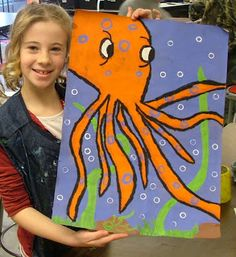 Art with Mrs. Seitz: Blue-Ringed Octopus-tied in to Australia