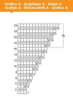 Schultertuch im Ziehharmonikamuster - kostenlose Strickanleitung
