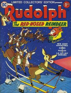 Rudolph the Red-Nosed Reindeer Comic Book