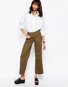 Monki Wide Leg Culottes