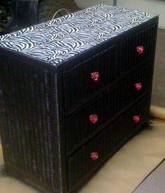 dresser on pinterest wicker painted wicker and wicker bedroom