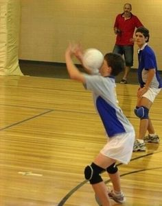 Fail!....is that...male volley ball? The guy (not the coach) in the back ground had an odd stance lol...
