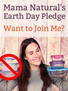 In honor of Earth Day, I'm getting rid of all plastic containers in our household. Want to join me? Come take the pledge!