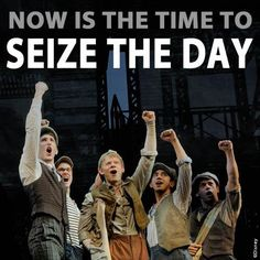 Newsies....I really want to see this on Broadway!