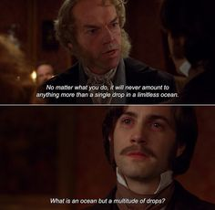 Cloud Atlas. Did you know Jim Sturgess and Yoona Bae make up the cutest couple ever???
