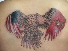 Independent Patriotic American Flag Tattoo designs - I love USA Marine Tattoo, Marine Corps Tattoos, Patriotische Tattoos, Navy Tattoos, Body Art Tattoos, Tatoos, Cross Tattoos, Friend Tattoos, Arm Band Tattoo