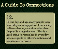 A Guide to Connections — This one applies to a lot of situations-...