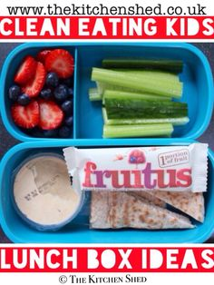 Clean Eating Kids Lunch Box Ideas #cleaneating #vegan #vegetarian #healthykids #lunch