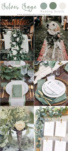 30 Silber Sage Green Wedding Color-Ideen für 2019 You are in the right place about wedding flowers lilac Here we offer you the most beautiful pictures about the w Olive Green Weddings, Sage Green Wedding, Burgundy Wedding, Blue Weddings, Winter Weddings, Beach Weddings, Romantic Weddings, Wedding White, Wedding Ideas Green