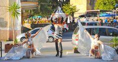 Katia Setien. Divarts danza y fuego y Thais Trasformistaen Epoca Cafe Lounge, Limpias