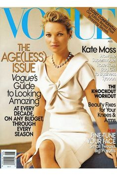 The Evolution Of Kate Moss, In 66 Vogue Covers 2008 USA