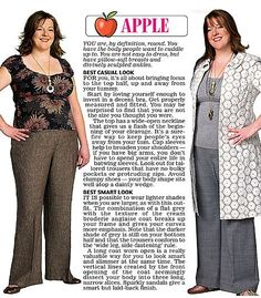 party outfits for the apple shape | Apple shape
