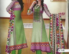 4 piece KHAADI printed Replica