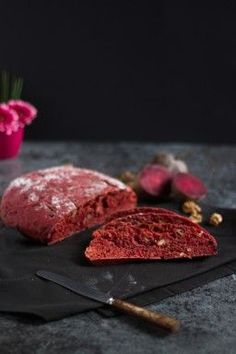 Rote Bete Brot  I  Beetroot Bread 8