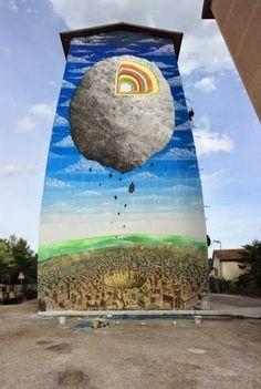 Γκράφιτι, η τέχνη του δρόμου (εικόνες)
