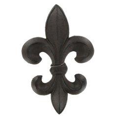 Dark Brown Cast Iron Fleur-De-Lis Décor | Shop Hobby Lobby