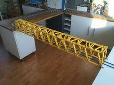 Lego Train Bridge… - New Ideas Lego Bridge, Lego Track, Lego Mini, Van Lego, Lego Ship, Lego Mecha, Lego Storage, Lego Design, Lego Models