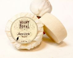 Mount Royal Soap Co - Old Fashioned Wet Shave Shaving Soap/Natural Shave Soap/Tallow Shave Soap/Artisan Shave Soap/Men's Soap/Handmade Shave Soap/ Shea Shave Soap