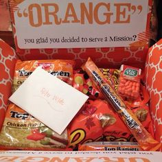 Mom Sanity - Mormon Missionary Care Package Ideas More