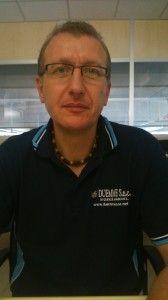 Marco Querzè titolare della Duemme snc. Cablaggio elettrico per macchine automatiche