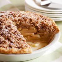 Apple Pie with Salted Pecan Crumble - Desserts - Thanksgiving Recipe - Country Living