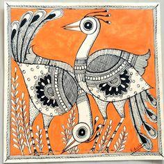 Madhubani (Mithila) Paintings by Vidushini: Handmade Collective 2109