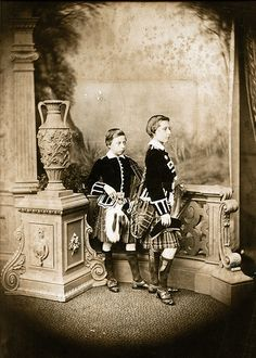 Prince Leopold and Prince Arthur sons of Queen Victoria and Prince Albert Queen Victoria Children, Queen Victoria Family, Queen Victoria Prince Albert, Victoria And Albert, Princess Alexandra Of Denmark, Victoria's Children, Prince Arthur, Young Prince, Black And White Portraits