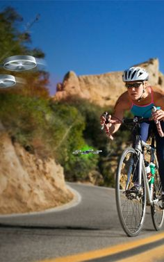 For Your Next Bike Ride, Bring Along This Friendly Drone—The Cyclodrone will fly in front of and behind cyclists to warn them of upcoming danger and help alert drivers. Maybe a drone-filled future isn't so bad after all.