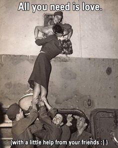 Cooperative Kiss...