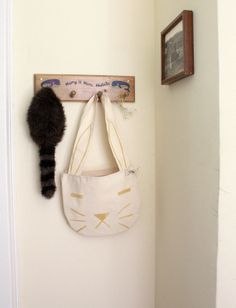 Rabbit Carry All Tote by fillitwithdiamonds on Etsy, $50.00