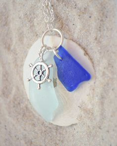 sea glass pendant Get your bulk Sea Glass supplies here https://www.etsy.com/listing/89722268/bulk-sea-glass-1-lb-of-bulk-seaglass?