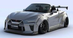 Daihatsu Copen Turned Into Mini Nissan GT-R By Liberty Walk #Daihatsu #Daihatsu_Copen