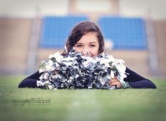 Senior Cheerleader, Idea for my sisters senior pictures Like, Comment, Repin !!