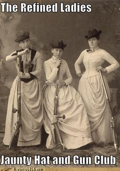 The Refined Ladies Jaunty Hat and Gun Club