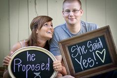 Engagement Pictures that are too cute :)