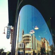 Reflections in Wilmington. #streetphotography #window #reflection #architecture  @blrb- #webstagram