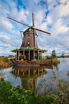 Kinderdijk, the Netherlands