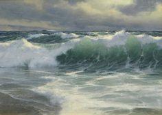 marine oil paintings: At Vose Galleries
