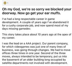Sharing a building can be a rough time, especially when you decide to make a relationship not work. #lawyer #noise #revenge #rude #lol Rude Customers, Rough Time, Emotional Rollercoaster, Entertainment Sites, Getting Fired, Game Dev, Funny Stories, Text Posts, Lawyer
