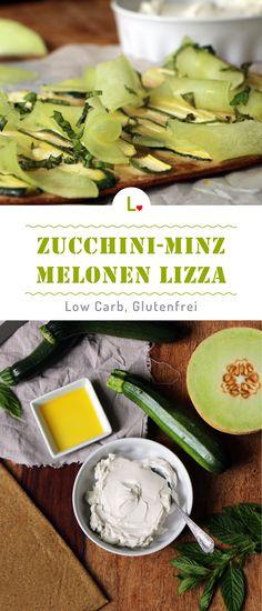 Sommerliche frische gefällig? Mit dem Zucchini Minz Melonen Rezept kommt der Sommer zu euch ins Haus. Der Low Carb Lizza Boden ist auch noch glutenfrei. Für mehr Rezpte besucht uns auf unsere Website https://lizza.de/pages/rezepte