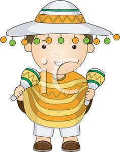 iCLIPART - Royalty Free Clipart Image of a Mexican