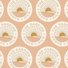 Beach inspired, graphic tee, california, branding, ocean, palm trees, carefree, personal brand, logo design, retro, texture, illustration, absract #brightenmade Inspiration Logo Design, Design Blog, Vintage Logo Design, Vintage Branding, Vintage Logos, Retro Logos, Retro Design, Identity Design, Graphic Design Personal Branding