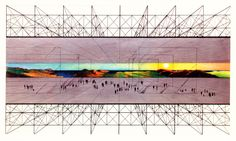 archiveofaffinities:  Archizoom/Gilberto Corretti, No Stop City, 1970