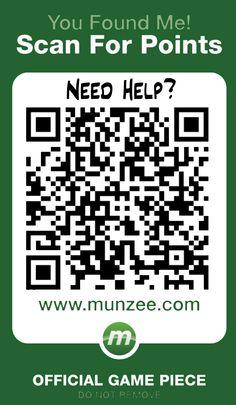 Munzee - outdoor scavenger hunt using your smartphone.